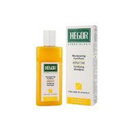شامپو تقویت کننده کراتین هگور مناسب موهای نازک، شکننده و آسیب دیده