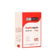 صابون اریترومایسین دئودراگ مناسب پوست های چرب و آکنه ای