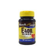 سافت ژل ویتامین ای میکس 400 واحدی میسون نچرال